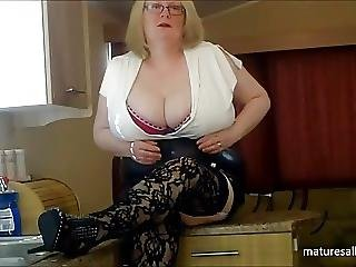 Stripping Down To My Fishnet Stockings