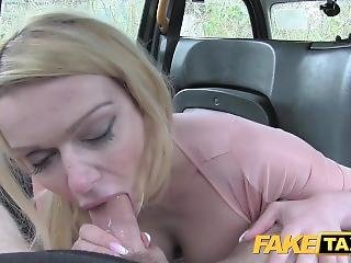 Fake Taxi Sexy Mum With Big Tits Sucks Cock