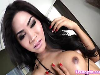 Amateur Ladyboy Assfucked In Doggystyle