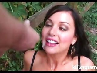 babe, blowjob, britisk, sammensætning, sædshot, handjob, pornostjerne, squirt