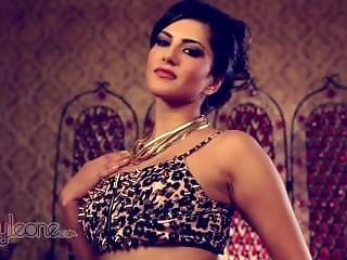 Sunny Leone - Naughty In Leopard Bra 720p Hd