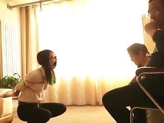 Asian Bondage 2 Girls Blindfold And Gagged