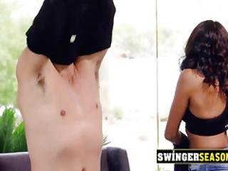 Shy Married Young Couple Goes To A Swinger Adventure. New Episodes Of Swingerseason.com Available.