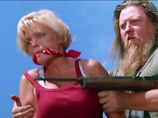 Baywatch Blonde Lifeguard Bound Cleave Gagged Jiggling And Kidnapped