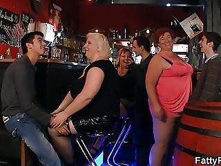 Bbw, 大きなブーブ, おっぱい, 脂肪, グループセックス, パーティー, セックス