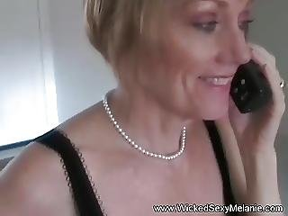 Horny Amateur Gilf Cum Swallower