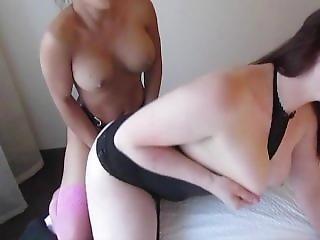 Nikko Jordan Fucks A Big Tit Lesbian From Behind.