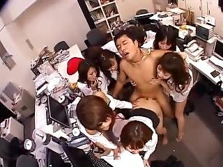 Every Office Lady Wants To Fuck One Guy