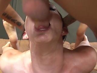 Jennifer Gets Face Fucked Hard