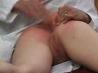 Cmnf Spanked By The Doctor Ass Up