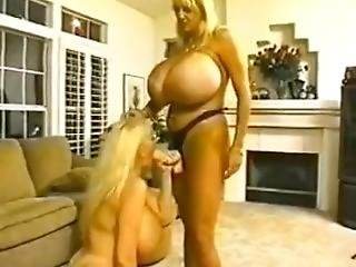 Kayla Kleevage And Maxi Mounds Huge Tits Lesbian Strap On