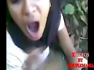 Indian Hot Monaster Girl Sucking Cock -couplemania