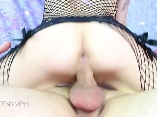Stepbrother Takes My Anal Virginity