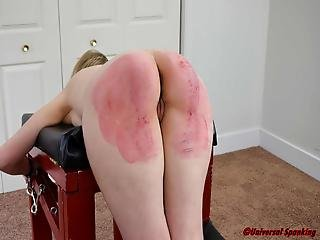 The Worst Day Of Her Life - Spanking