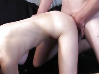 College Slut Facialized During Group Fun