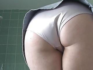 Butt, Lingerie, Panties, Skirt, Softcore, Teasing, Upskirt