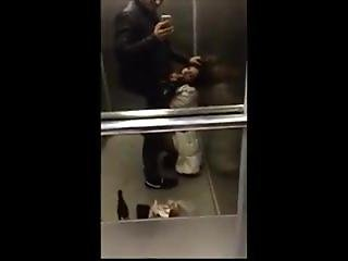 Blowjob And Cumface In Elevator