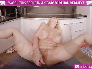 Vr Bangers-angel Wicky Fucking A Big Vibrator And Burst With Orgasm