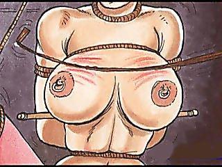 Slaves In Bondage Captivity Bdsm Cartoon Art