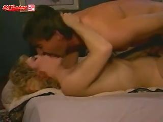 Curly-haired Blonde Uses Pussy For Wakeup