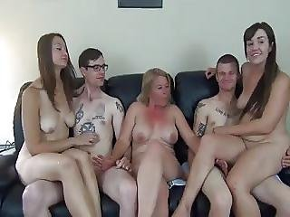 Mature Woman With Young Men And Girls