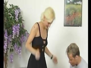 Blonde Milf Mistress Gets Naughty Julia Reaves