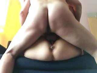 Cheating British Wife Fucked In A Hotel Room