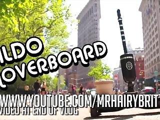 Dildo Hoverboard - Driving Vibrator Masturbation - Fucking Machine Sex Toy