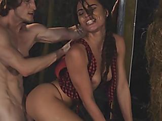 obciąganie, brunetka, dławi się, na pieska, podłoga, gwiazda porno, małe cycki, klaps, ssanie, Nastolatki