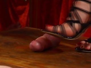 Shoejob Black & Pink Sandals