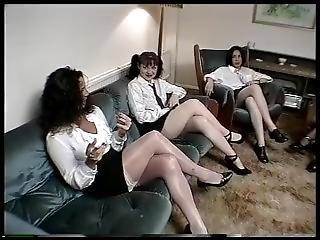 Teacher Gives Schoolgirls Lesbian Sex Education Lesson