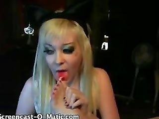 Goth Toesuck (no Audio)