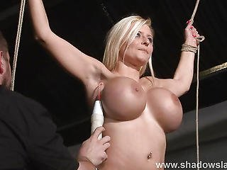 Bdsm, Busty, European, German, Pain, Punish, Pussy, Slave, Slut, Torture