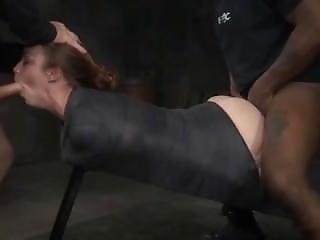Mummified Sex Object Bella Rossi Gets Fucked Hard