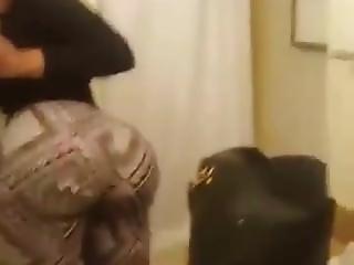 Horny Ebony Ass Clap!pov