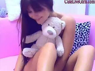 This Teen Girl It S Chatting Smiling Having Fun Watch Her