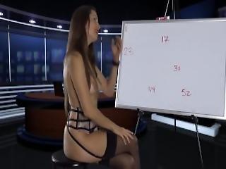 amatør, sjef, dominasjon, femdom, fetish, strømpebånd, hjemme, hjemmelaget, sekretær, solo, strømpe, erting