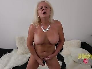 grandes mamas, loira, esporra, meter dedos, hardcore, masturbação, madura, milf, cona, só, brinquedos