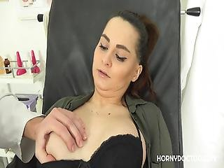 Gyno Exam By A Dirty Gynecologist