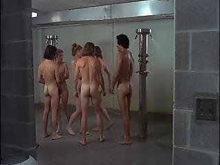 College Coed Shower In The 70s