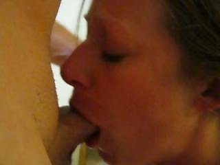 Rough Amateur Facefuck Gagging Blowjob While Handcuffed