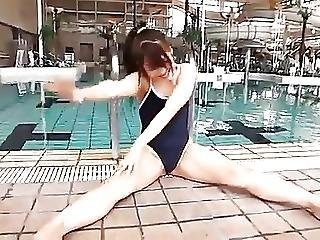 Japanilainen, Alaston, Softcore, Uimapuku
