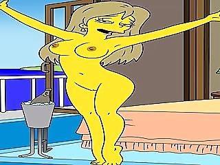 Cartoon Porn Simpsons porn privat sex tape