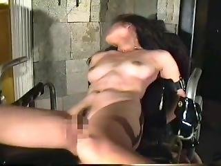 Japanese Lady Tickled