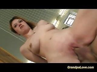 Cute Teen Gets Fucked By Her Old Trainer