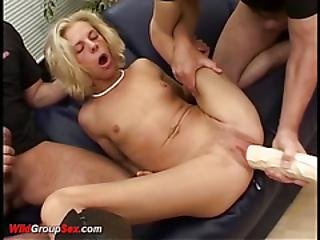 Crazy German Teen Extreme Anal Banged