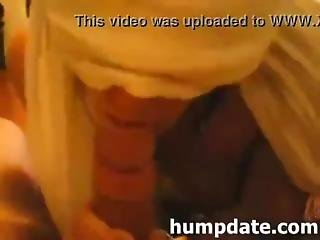 Hot Scarf Blindfolded Amateur Blowjob