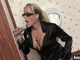 blondin, avsugning, cumshot, dildo, facial, hårdporr, damunderkläder, nörd, oralt, sex