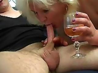 Linda Drunk Mature Woman Seduced Boy