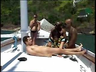 The Cum Fuck Me Boat Part 2
